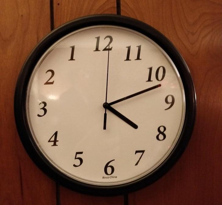 странные часы