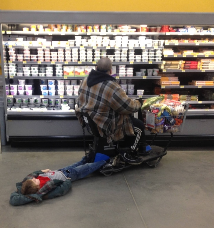 покупки с ребенком