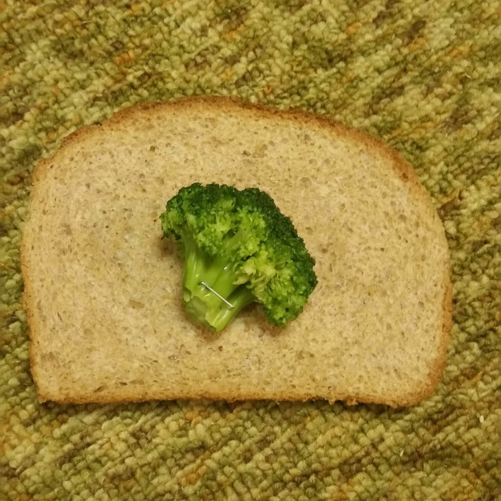 необычный бутерброд