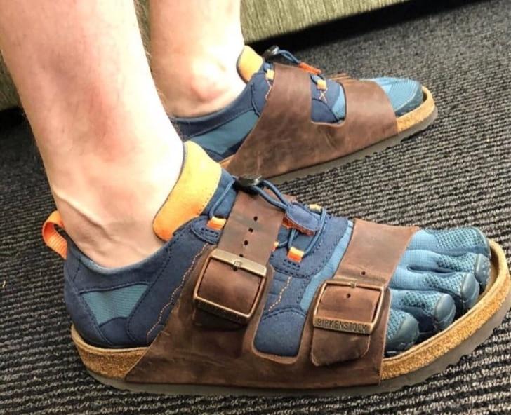 обувь два в одном