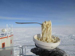 замерзшие спагетти