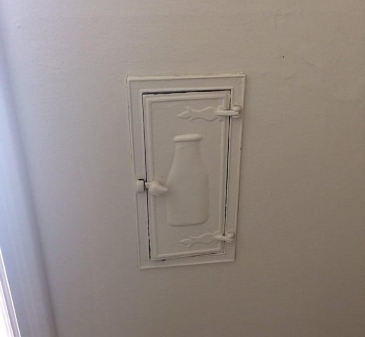 дверца для молока