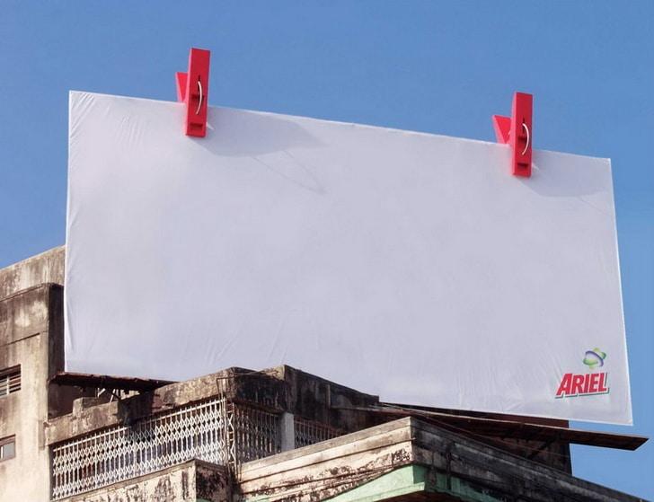 реклама ariel