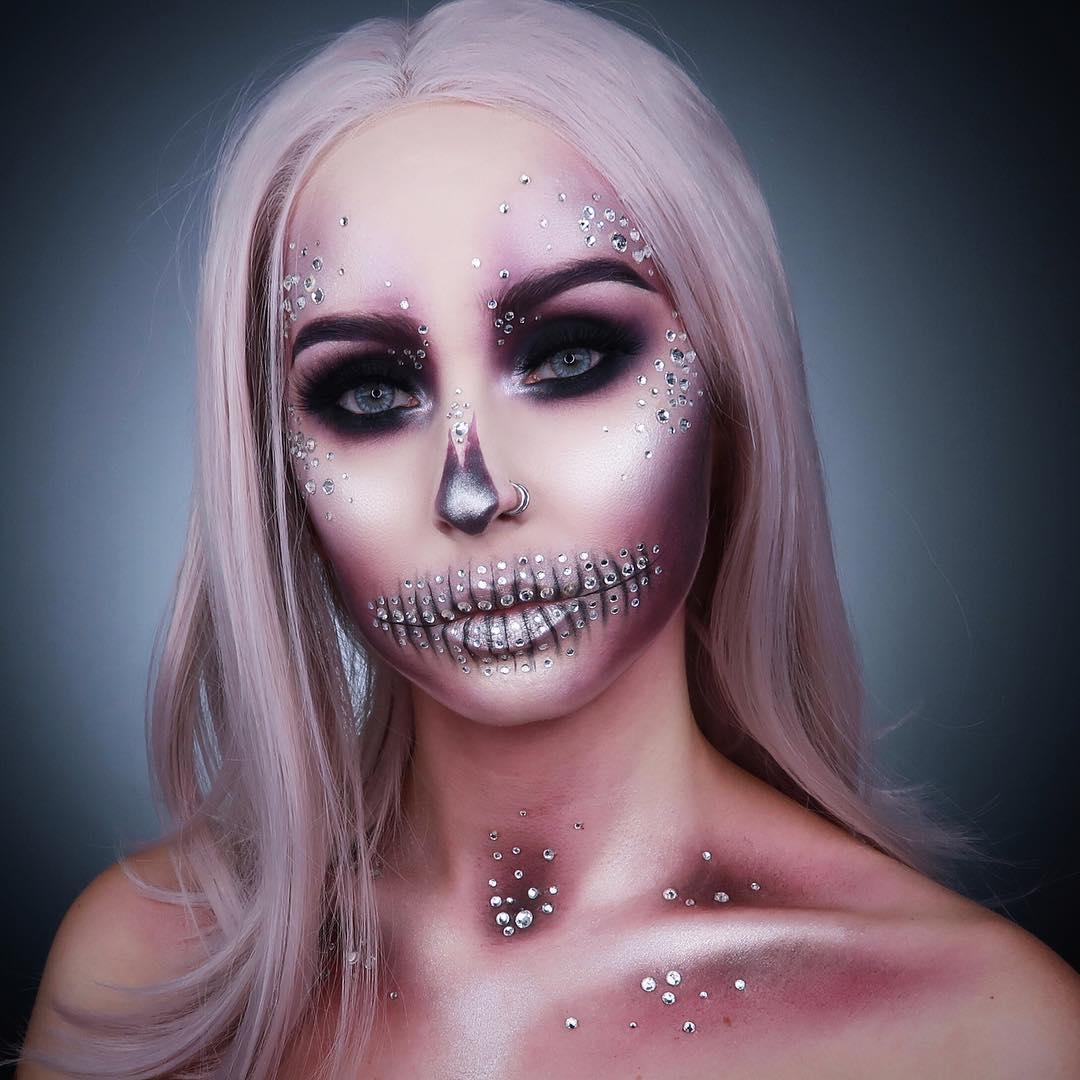 хэллоуин, хэллоуин 2018, хэллоуин фото, хэллоуин макияж рис 7