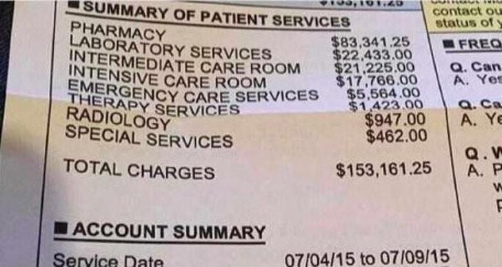 чек за лечение