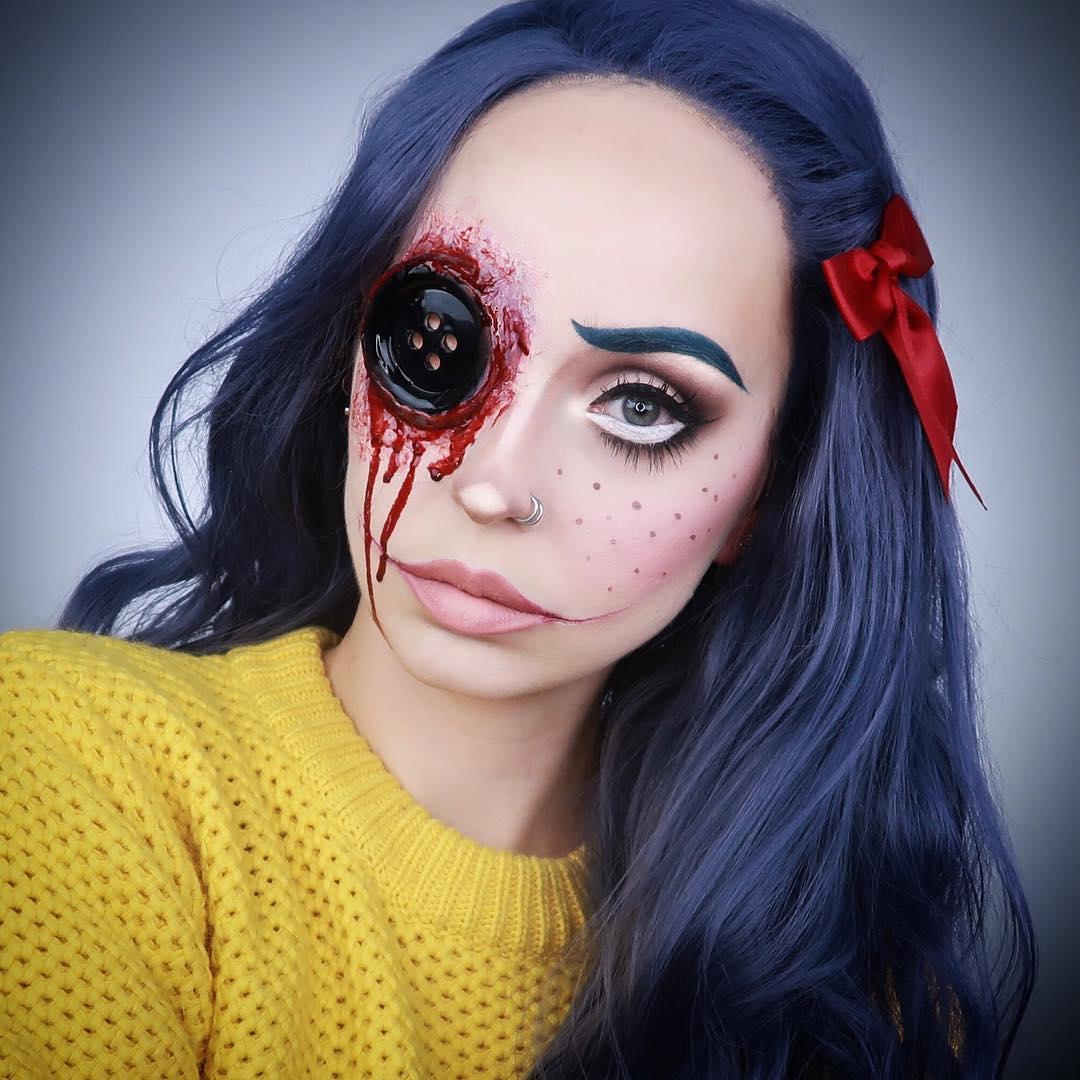 хэллоуин, хэллоуин 2018, хэллоуин фото, хэллоуин макияж рис 8