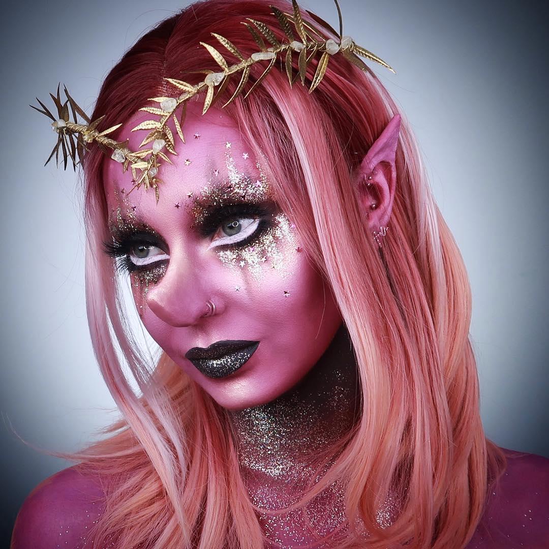 хэллоуин, хэллоуин 2018, хэллоуин фото, хэллоуин макияж рис 9