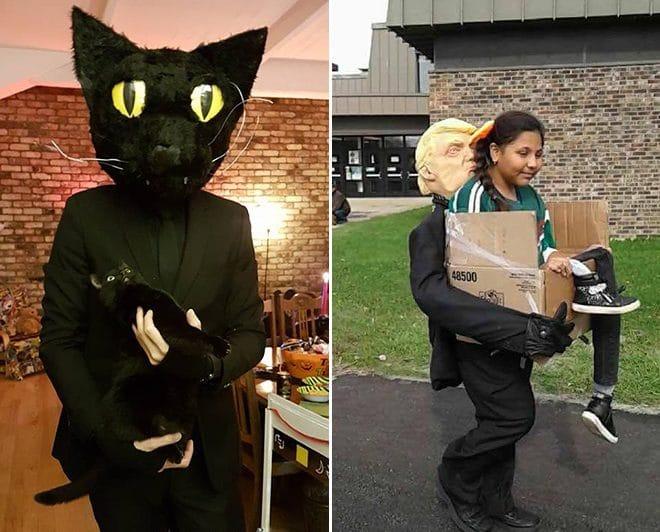 оригинальные костюмы для Хэллоуина