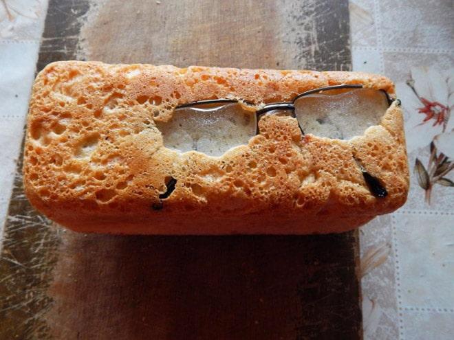 пирог с очками