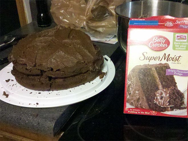 торт из магазина
