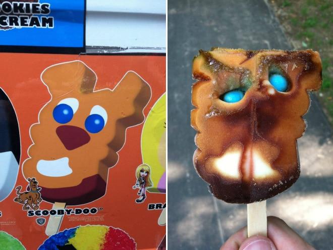 мороженое на палочке