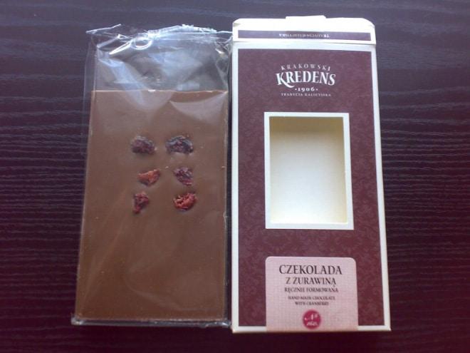 шоколад с сухофруктами