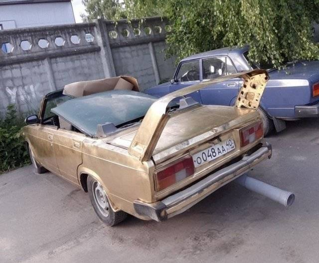 машина без крыши