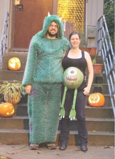 парный костюм на Хэллоуин
