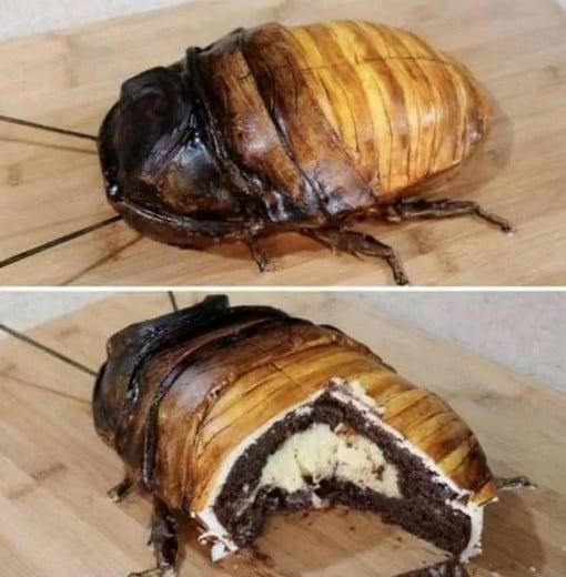 торт в виде жука