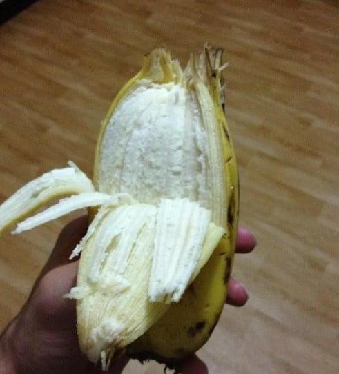 необычный банан