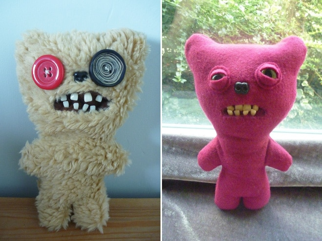 плюшевые игрушки с зубами рис 2