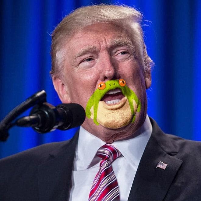 дональд трамп говорит