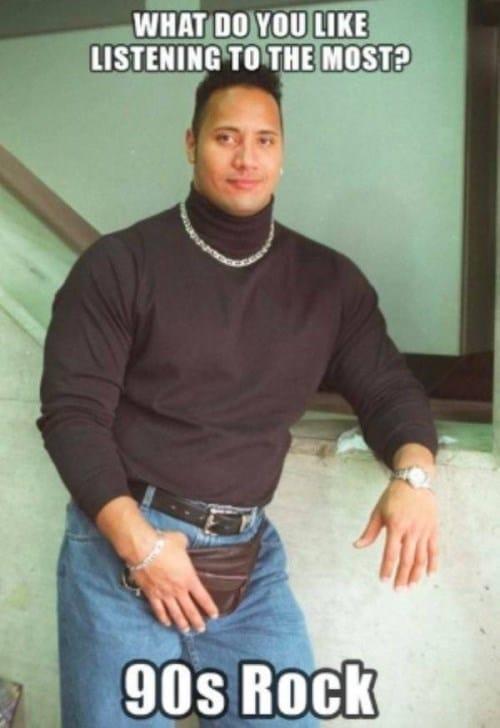 дуйэн джонсон в 90-е
