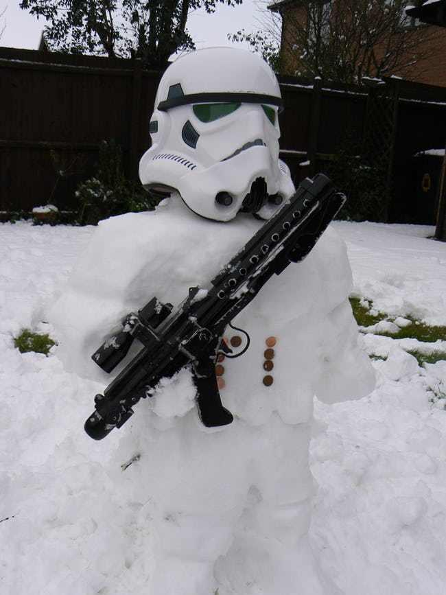 снеговик звездные войны