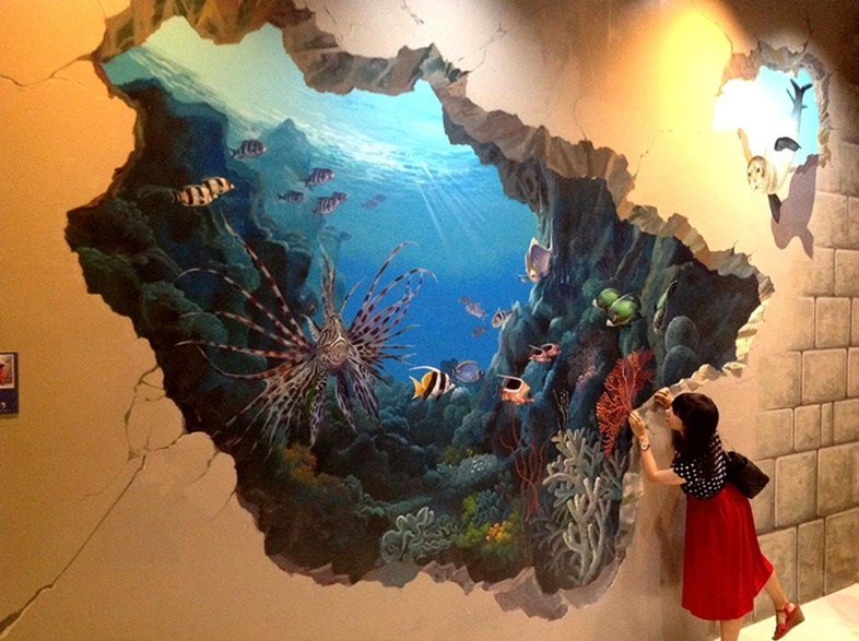 3D-рисунок подводного мира