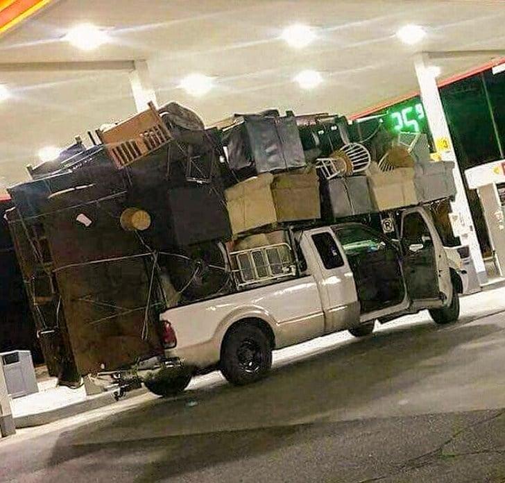 авто с багажом
