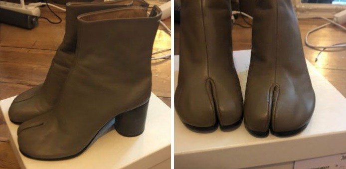 неудачный дизайн обуви