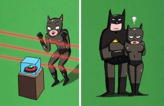рисунок грабителей банка