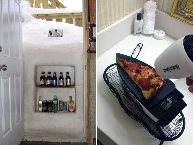 снег и утюг