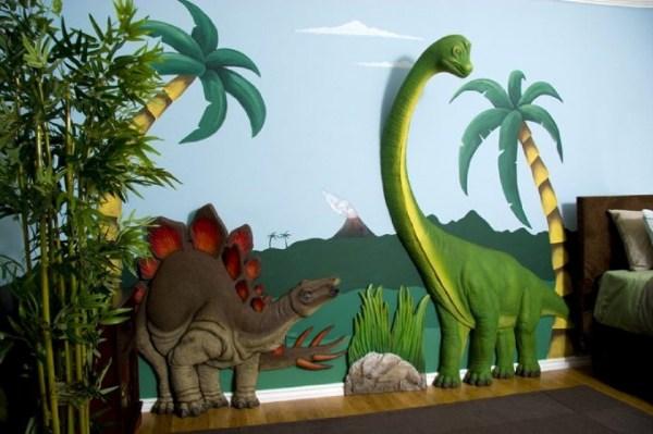 3D-рисунок динозавров