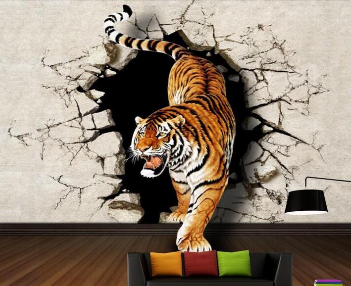 3D-рисунок тигра