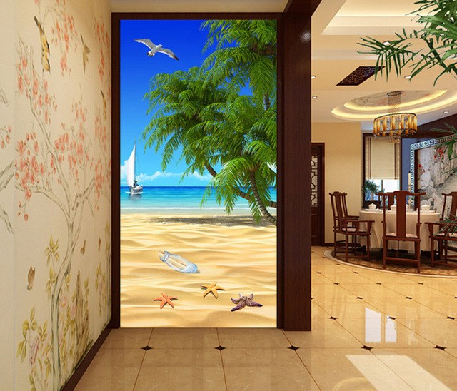 3D-рисунок пляжа