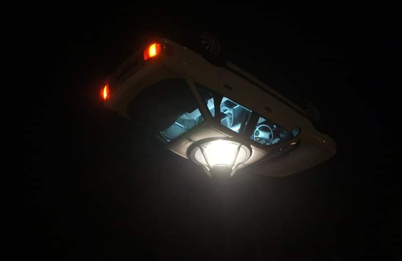 фонарь из автомашины