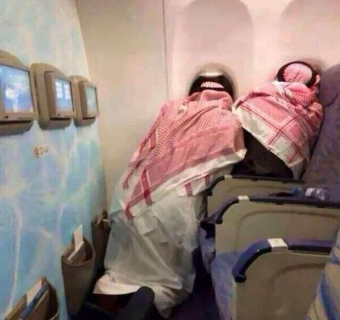 арабы в самолете