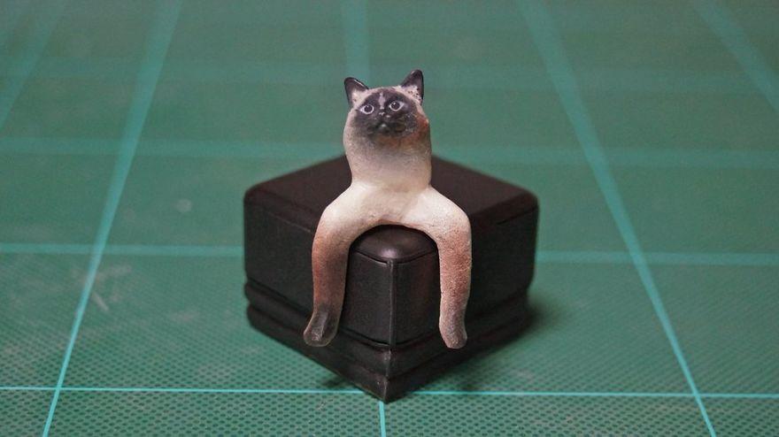 фигурка кота рис 2