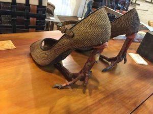 туфли на куриных ножках