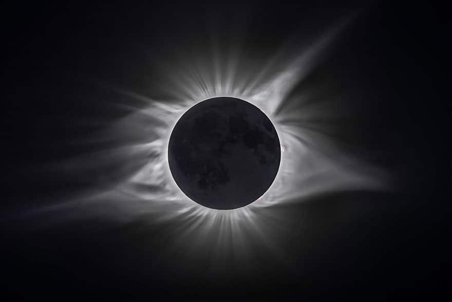 затмение Солнца Луной