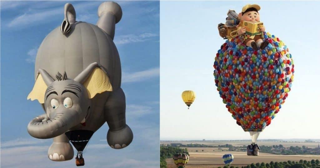 Воздушные шары картинки смешные