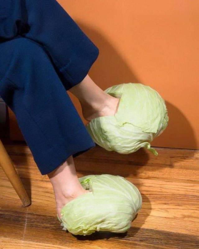 капуста на ногах