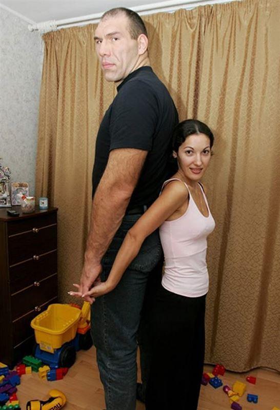 николай валуев с женой