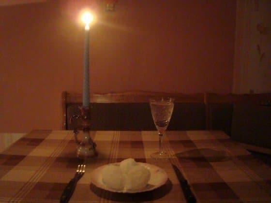 ужин студента