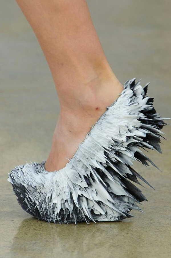 туфли с острыми краями