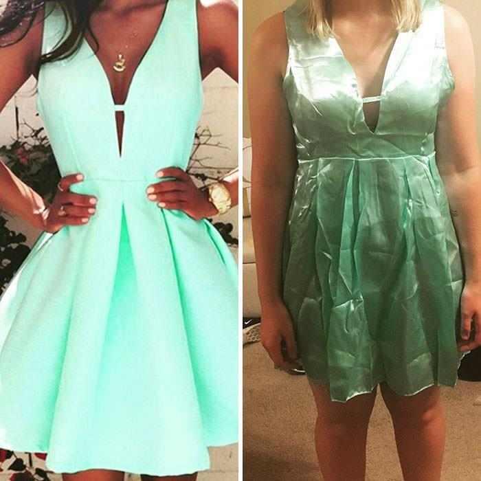 девушки в зеленом платье
