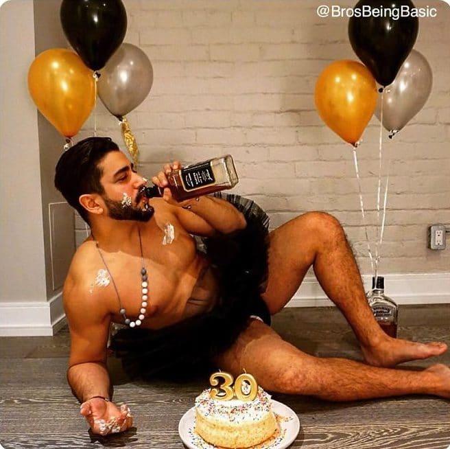 День рождения парня