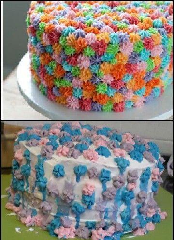 торт неудача
