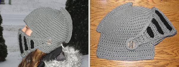 Шлем из ниток