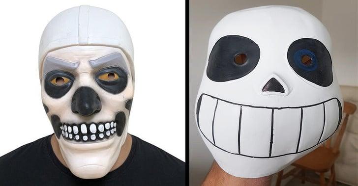 странная маска