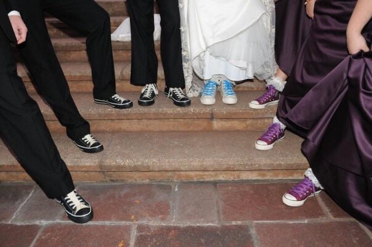 обувь на свадьбе