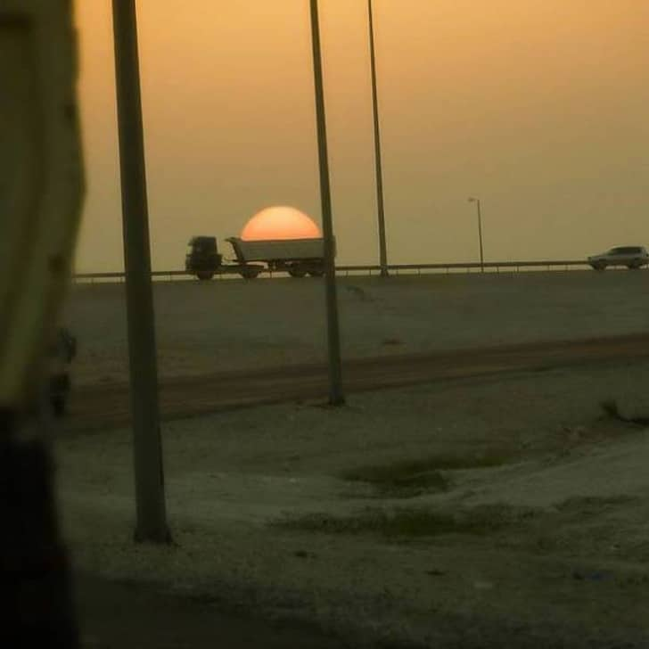 солнце в грузовике
