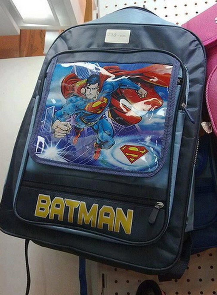 рюкзак с суперменом